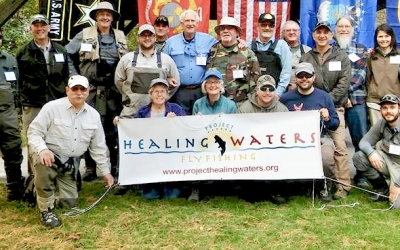 Pittsburgh Veterans head to Yellow Creek for PHWFF Outing
