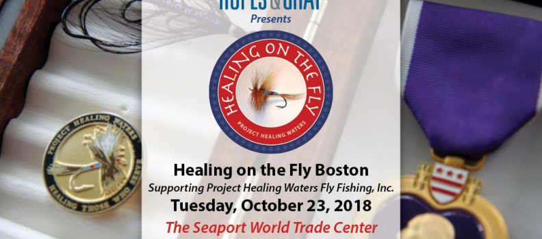 The 2nd Annual Healing on the Fly-Boston announced for October 23, 2018