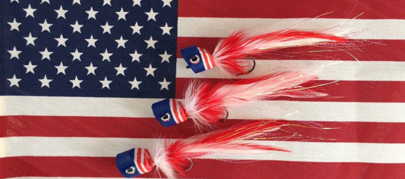 Tying Patriot Poppers with the Jersey Shore Program