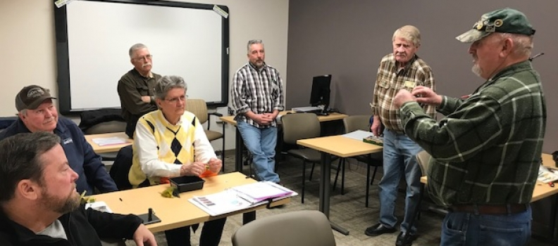 The Coeur d'Alene, Idaho program holds first fly tying class!