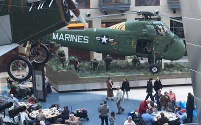 The 5th Annual Fly Tying Marathon at the National Museum of the Marine Corps