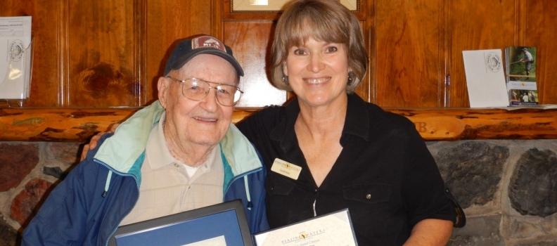 John Woodling Receives Patriot Award