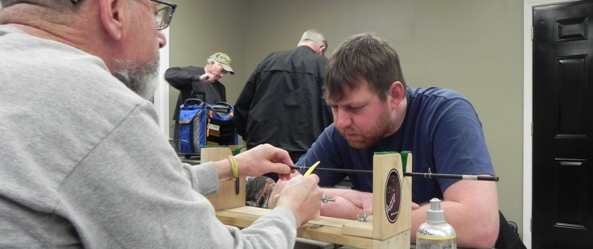 The 2017 Rod Building Competition has shifted into high gear!