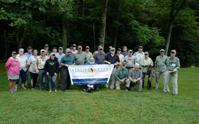 Tying the Adams Dry Fly with PHWFF Knoxville, TN