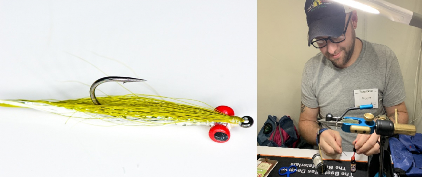 Tie the 'Deep Clouser Minnow' with SGT Lee Barbee on May 13th