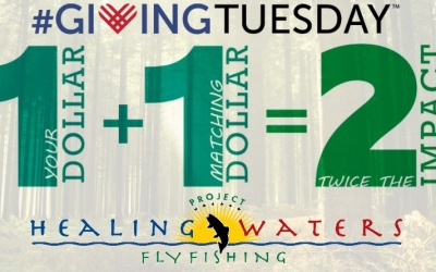 Have your donation doubled on #GivingTuesday!
