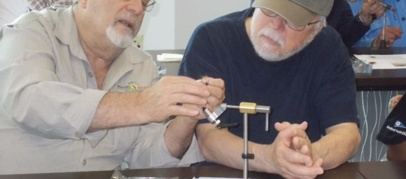 Fly Tying at the Newington, CT Veterans Affairs Medical Center