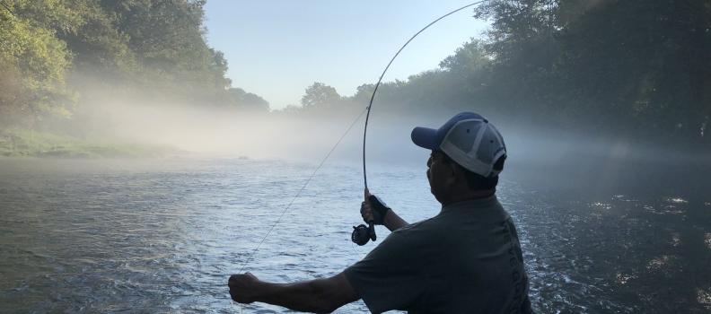 Disabled Veterans Enjoy Phenomenal Fishing on Arkansas's Little Red River