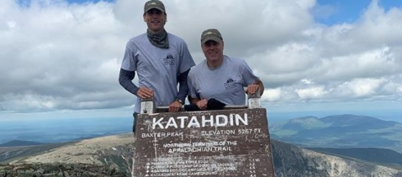 The 100 Mile Wilderness: Gerry & Rex Leonard Hike to Heal Veterans