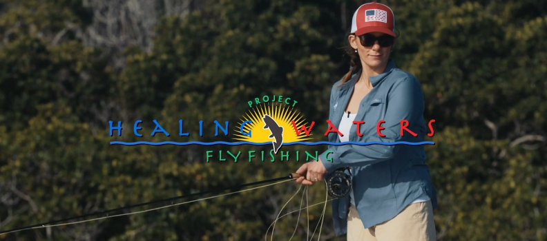 Sabrina Beganny, U.S. Army (ret) experiences an unforgettable fishing trip (VIDEO)