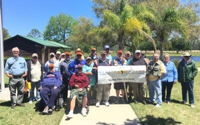 Space Coast PHWFF and New Smyrna PHWFF visit Deer Creek