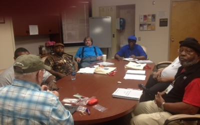 Presentation and Fly Tying Demonstration held at the Tuskegee, Alabama Veterans Affairs Medical Center