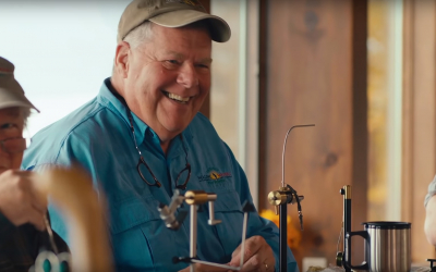 Disabled Veterans Help Each Other Heal Through Fly Fishing (VIDEO)