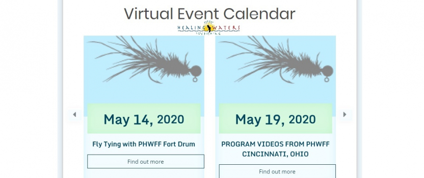 Join us online! The PHWFF Virtual Events Calendar