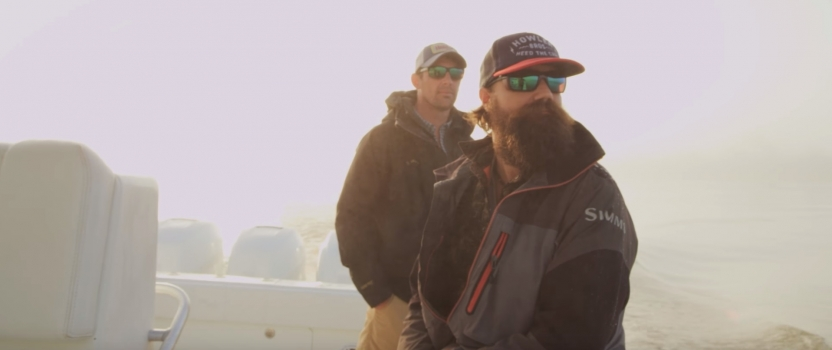 Saltwater Fly Fishing in Louisiana featuring Oliver White and SSG (ret) Wesley Hodges, U.S. Army (VIDEO)