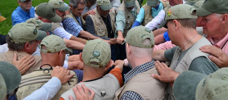 Healing and Reeling: Partnership supports male veterans in the cancer recovery process